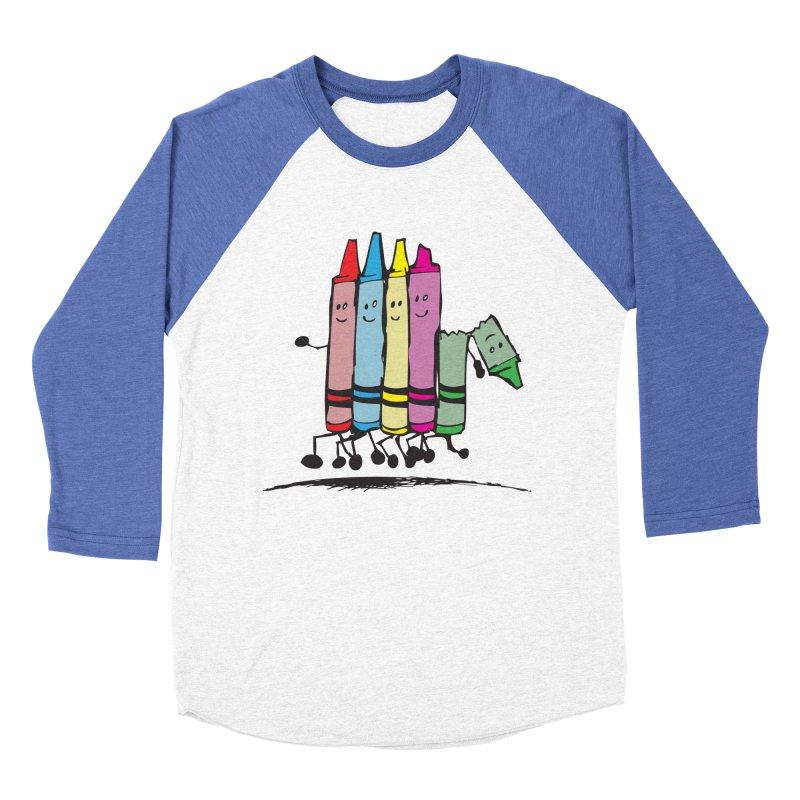 Lean on me Men's Baseball Triblend T-Shirt by alienmuffin's Artist Shop