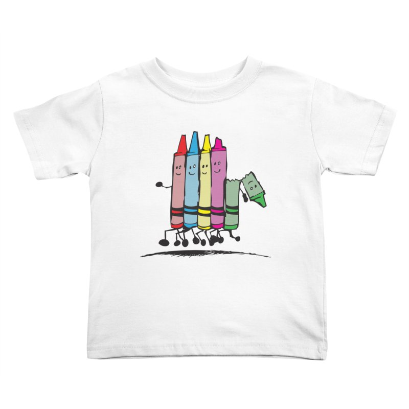 Lean on me Kids Toddler T-Shirt by alienmuffin's Artist Shop