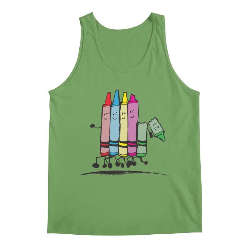 Lean on me Men's Tank by alienmuffin's Artist Shop