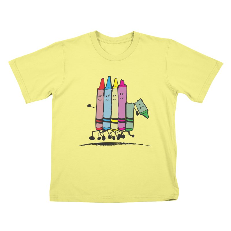 Lean on me Kids T-shirt by alienmuffin's Artist Shop