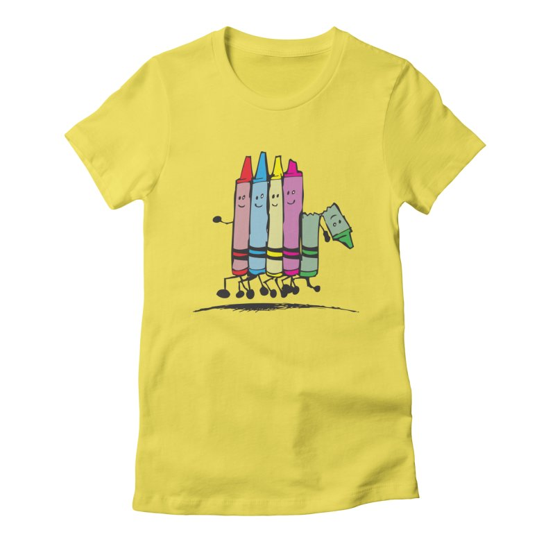 Lean on me Women's T-Shirt by alienmuffin's Artist Shop