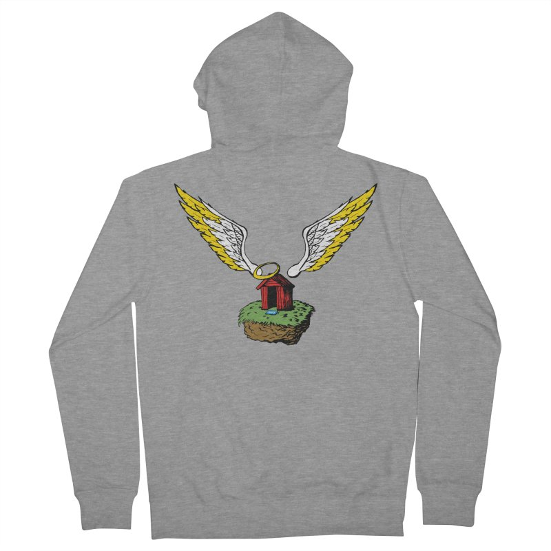 Safe Space Women's French Terry Zip-Up Hoody by alienmuffin's Artist Shop