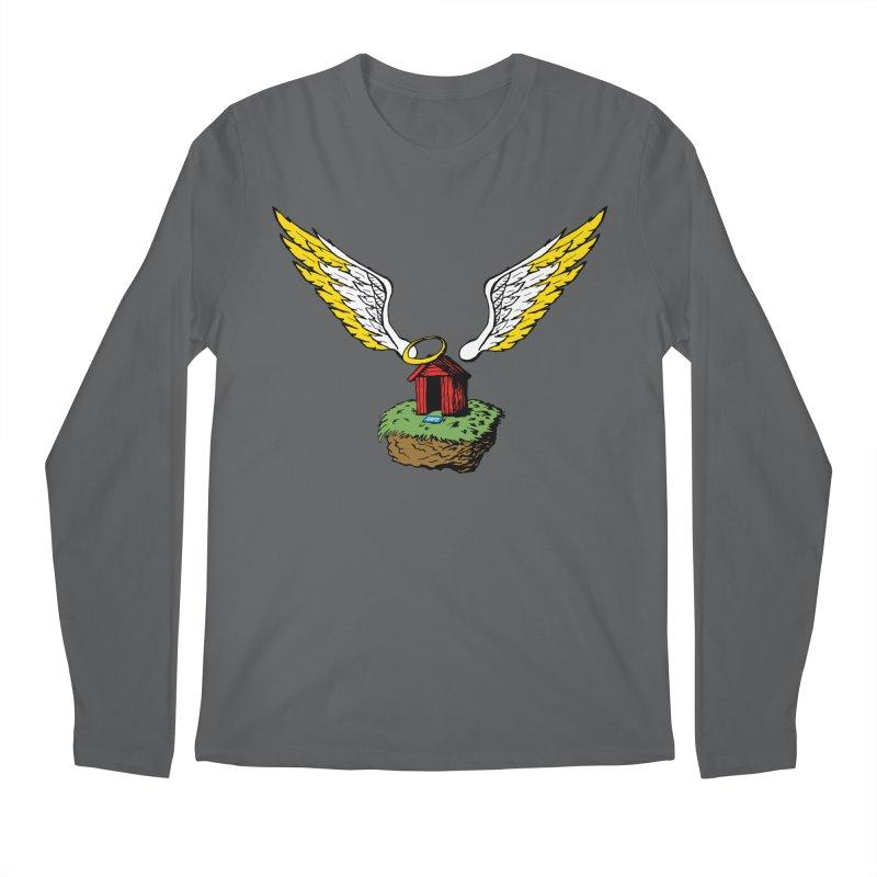 Safe Space Men's Regular Longsleeve T-Shirt by alienmuffin's Artist Shop