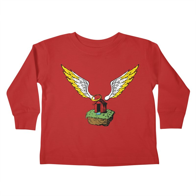 Safe Space Kids Toddler Longsleeve T-Shirt by alienmuffin's Artist Shop