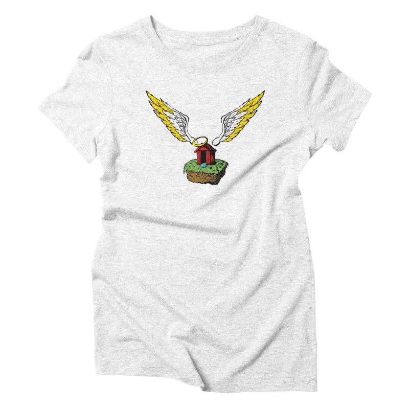Safe Space Women's Triblend T-shirt by alienmuffin's Artist Shop