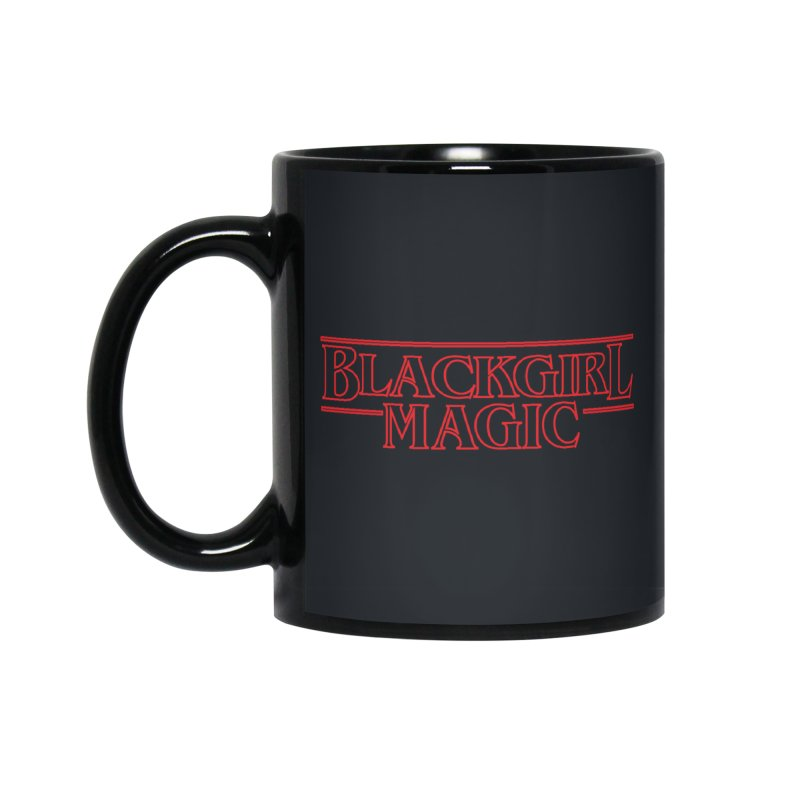 Black Girl Magic Accessories Mug by alienmuffin's Artist Shop