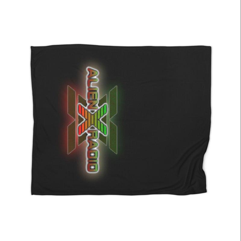 AXR LOGO CURTAIN Home Blanket by ALIEN X GEAR
