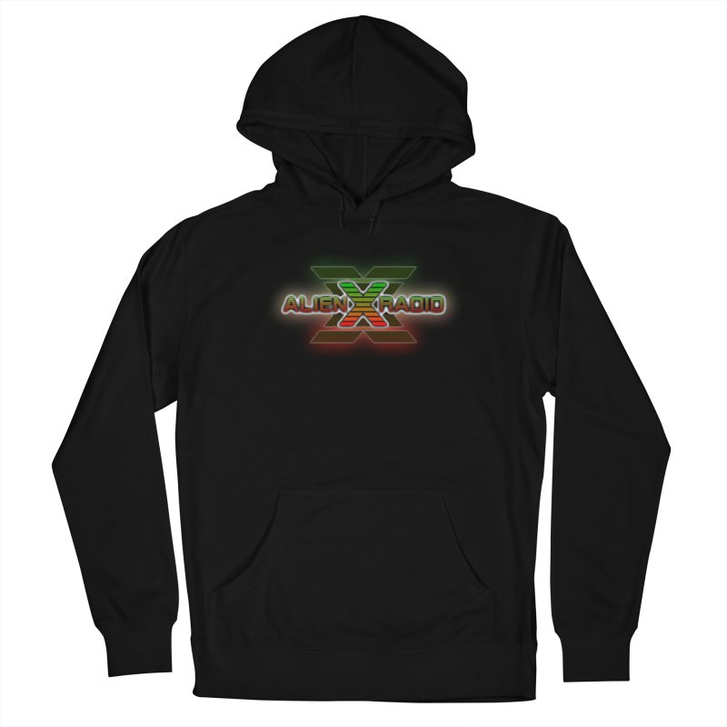 AXR LOGO CURTAIN Men's Pullover Hoody by ALIEN X GEAR
