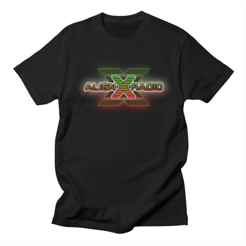 AXR LOGO CURTAIN Men's T-Shirt by ALIEN X GEAR