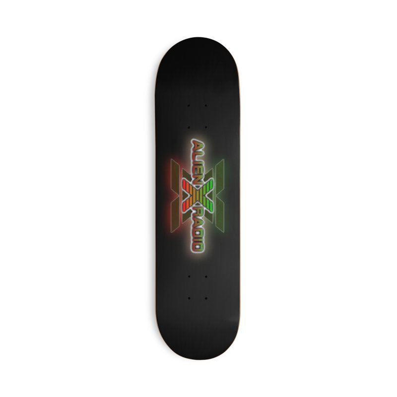 AXR LOGO CURTAIN Accessories Skateboard by ALIEN X GEAR