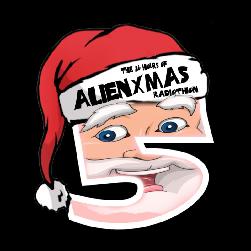 AlienXmas Logo 2019 Men's T-Shirt by ALIEN X GEAR