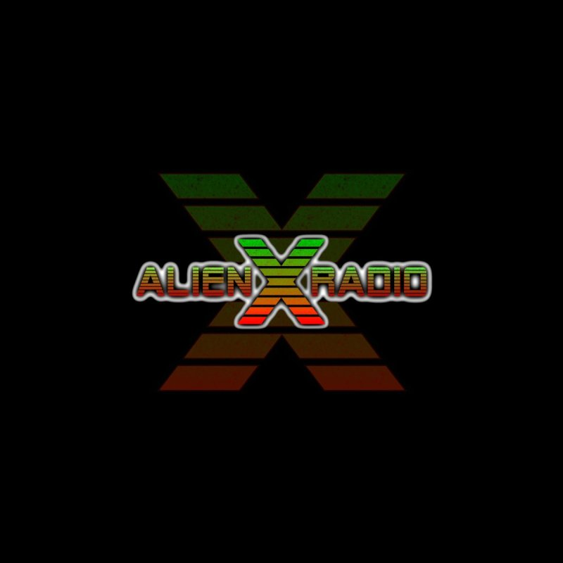 Alien X Radio Logo Face Mask Accessories Face Mask by ALIEN X GEAR