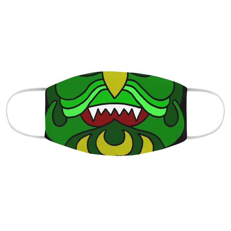 Sea Monster Mask Accessories Face Mask by ALIEN X GEAR