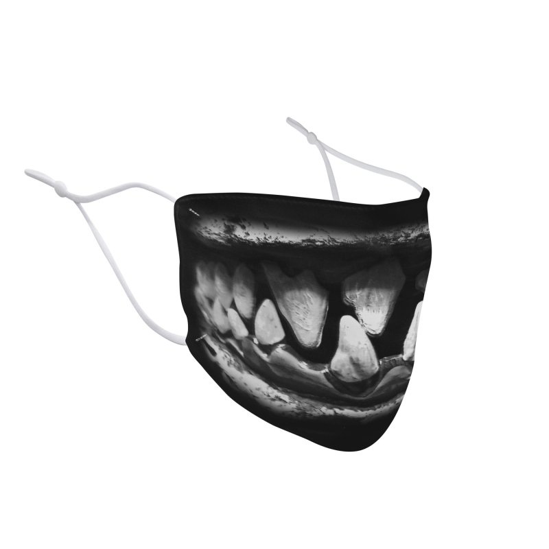 Monster Teeth Mask Accessories Face Mask by ALIEN X GEAR