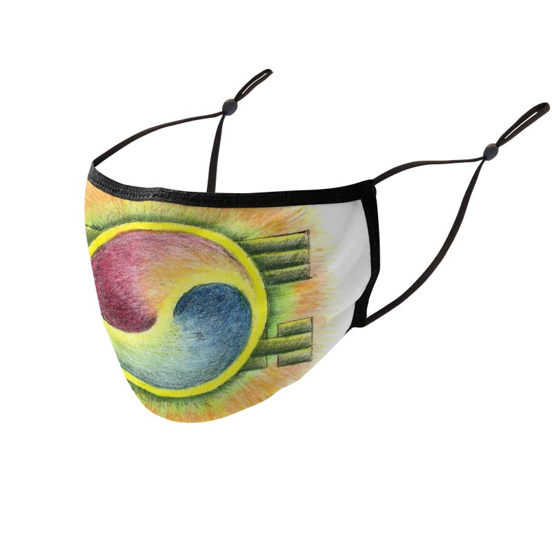 Yin Yang Mask Accessories Face Mask by ALIEN X GEAR