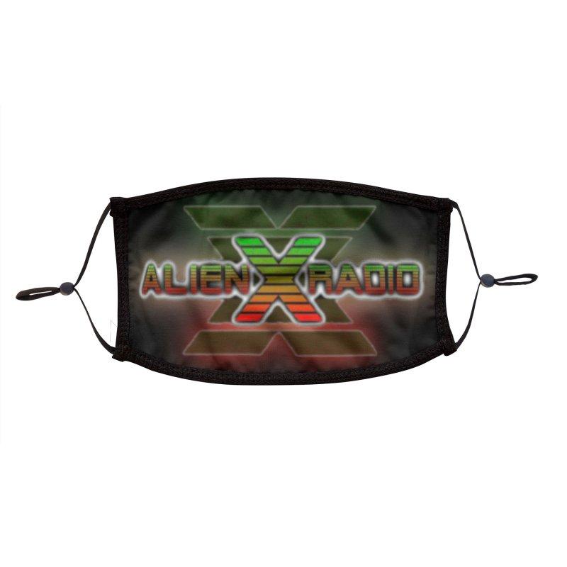 ALIEN X RADIO LOGO MASK 2 Accessories Face Mask by ALIEN X GEAR