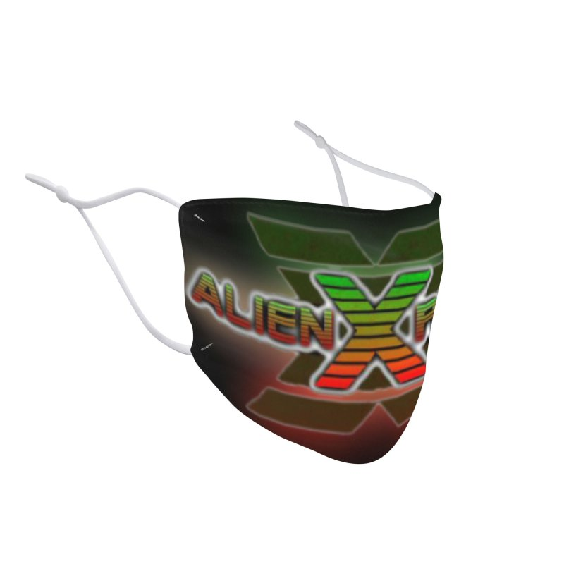 ALIEN X RADIO LOGO MASK 2 Accessories Face Mask by ALIEN X GEAR