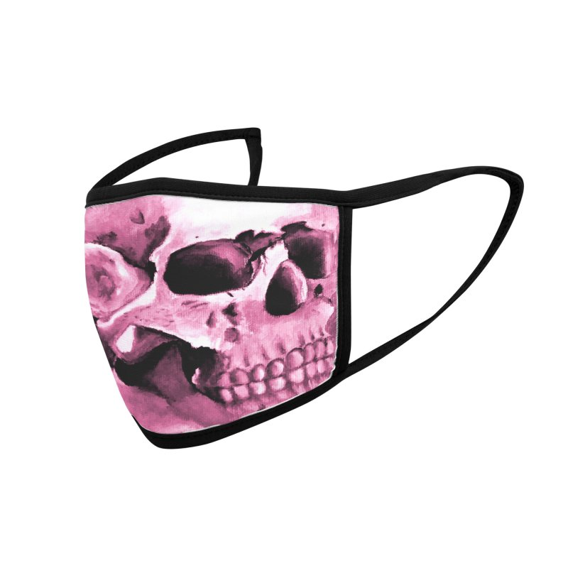 PINK SKULL MASK Accessories Face Mask by ALIEN X GEAR