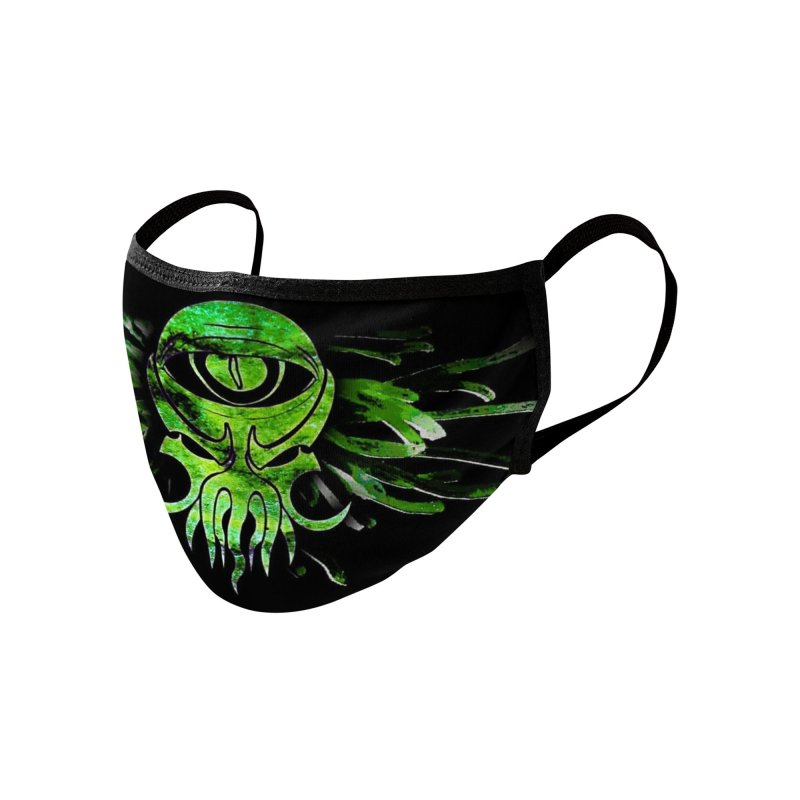 CREEPING CHAOS MASK Accessories Face Mask by ALIEN X GEAR