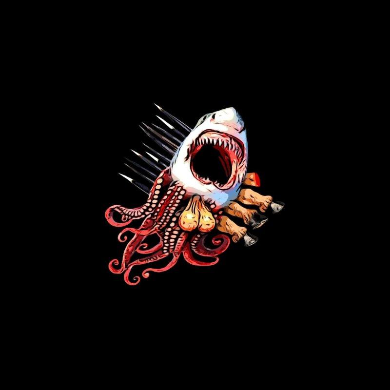 Sharktapusaporkupony Men's T-Shirt by ALIEN X GEAR