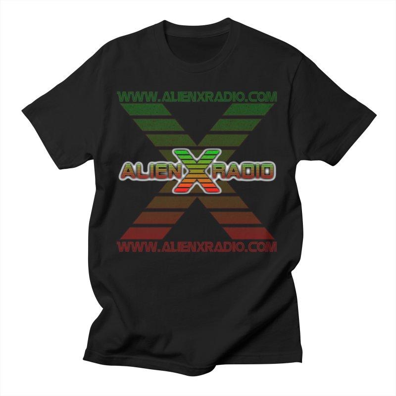 Alien X Radio Men's T-Shirt by ALIEN X GEAR