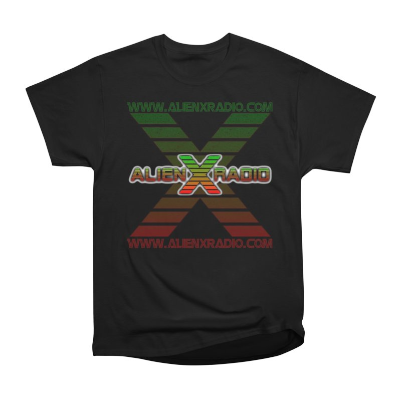 Alien X Radio Men's Heavyweight T-Shirt by ALIEN X GEAR
