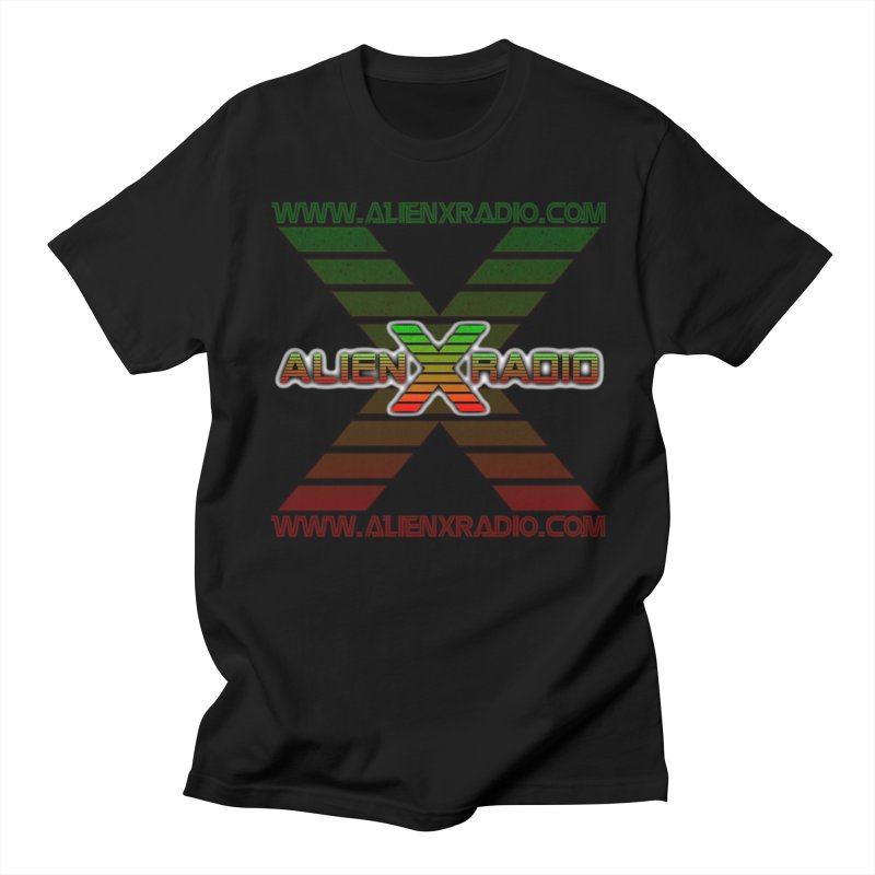 Alien X Radio Men's Regular T-Shirt by ALIEN X GEAR