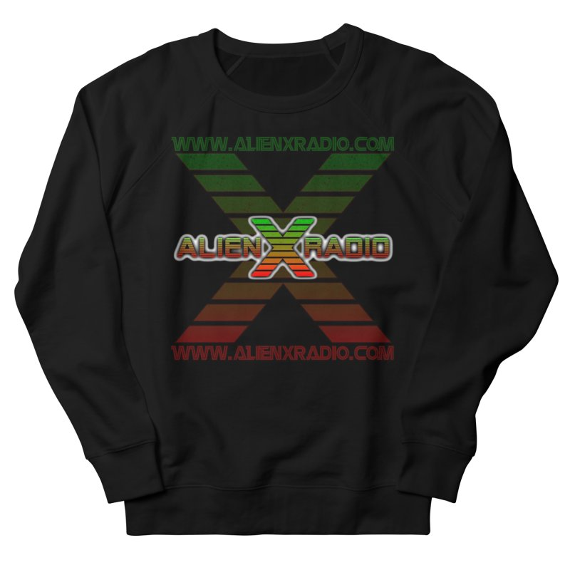 Alien X Radio Men's French Terry Sweatshirt by ALIEN X GEAR