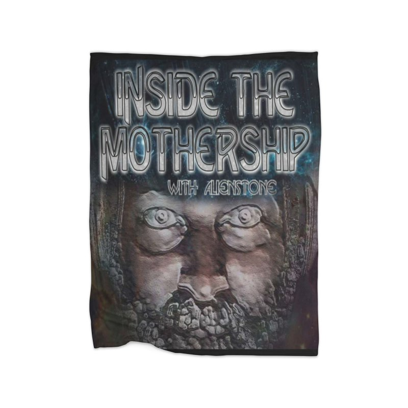 Inside The Mothership Home Blanket by ALIEN X GEAR