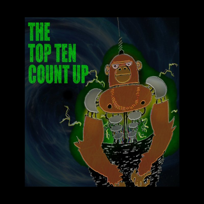Top Ten Count Up Men's Sweatshirt by ALIEN X GEAR