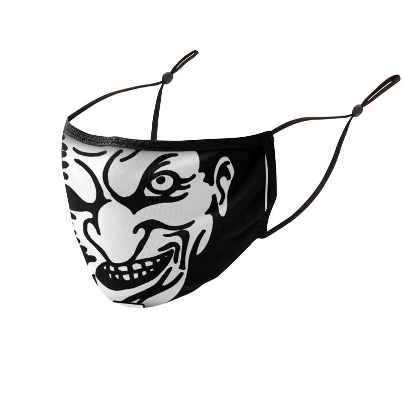 IGORS LUBE LOGO 1 Accessories Face Mask by ALIEN X GEAR