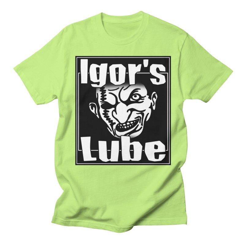 IGORS LUBE LOGO 1 Men's T-Shirt by ALIEN X GEAR