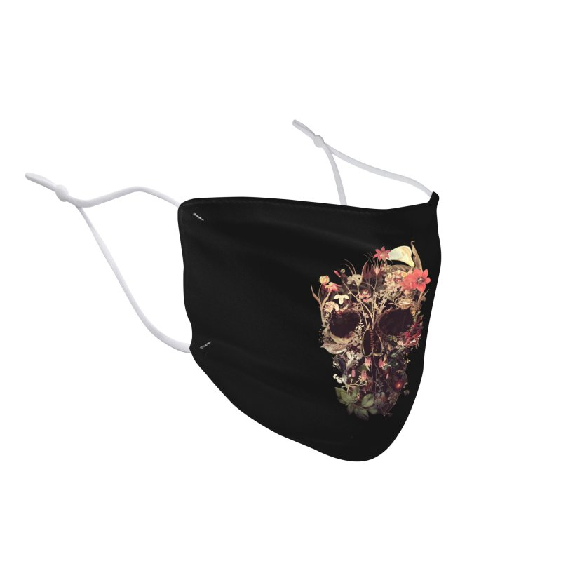 Bloom Skull Accessories Face Mask by Ali Gulec
