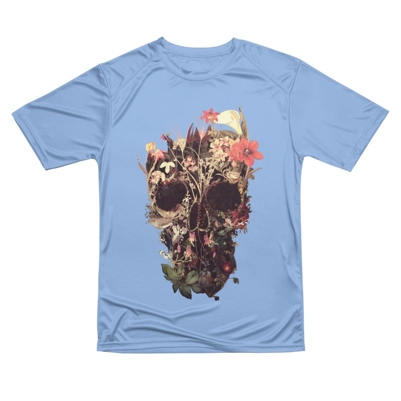 Bloom Skull Men's T-Shirt by Ali Gulec