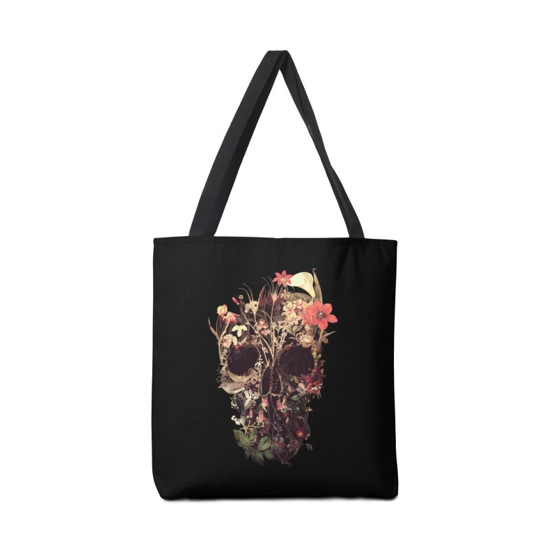 Bloom Skull Accessories Bag by Ali Gulec