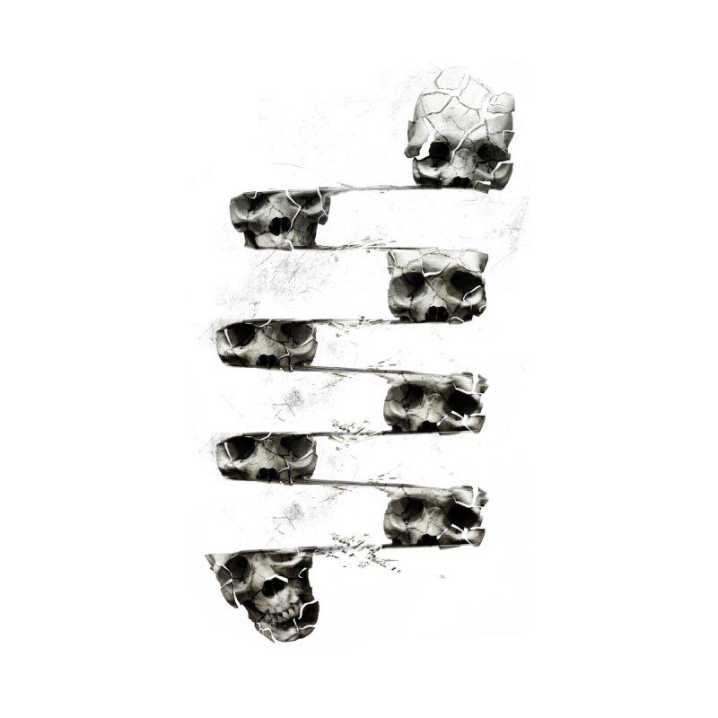 Skull 3 Men's T-Shirt by Ali Gulec