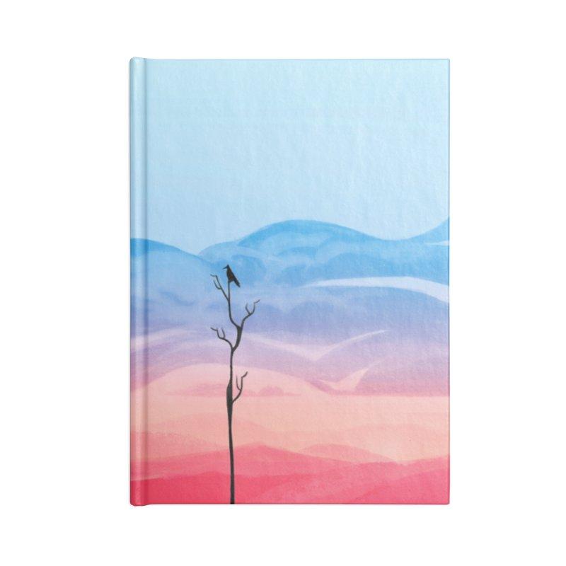 Sunrise Accessories Notebook by alisa's Artist Shop