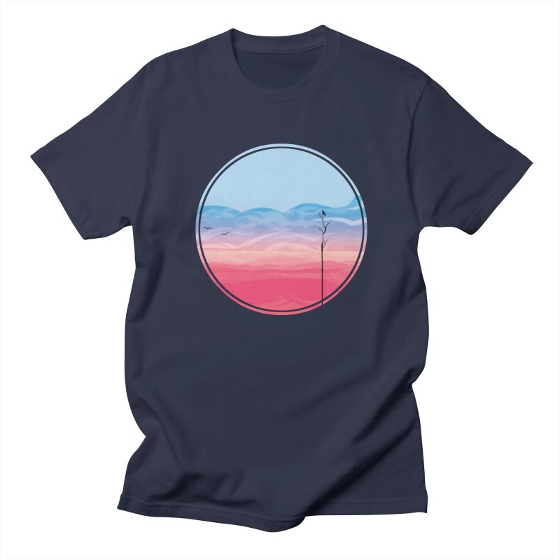 Sunrise Men's T-shirt by alisa's Artist Shop