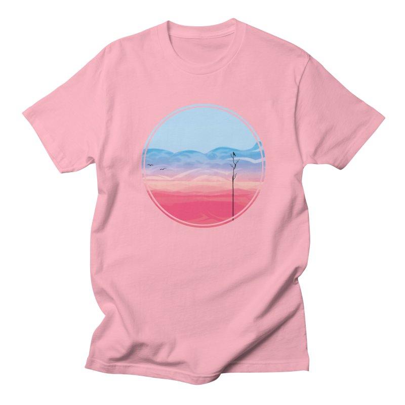 Sunrise Men's T-Shirt by alisa's Artist Shop