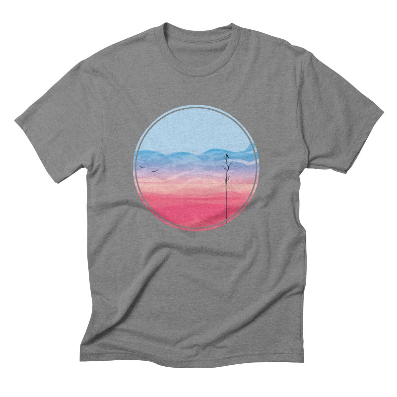 Sunrise Men's Triblend T-shirt by alisa's Artist Shop