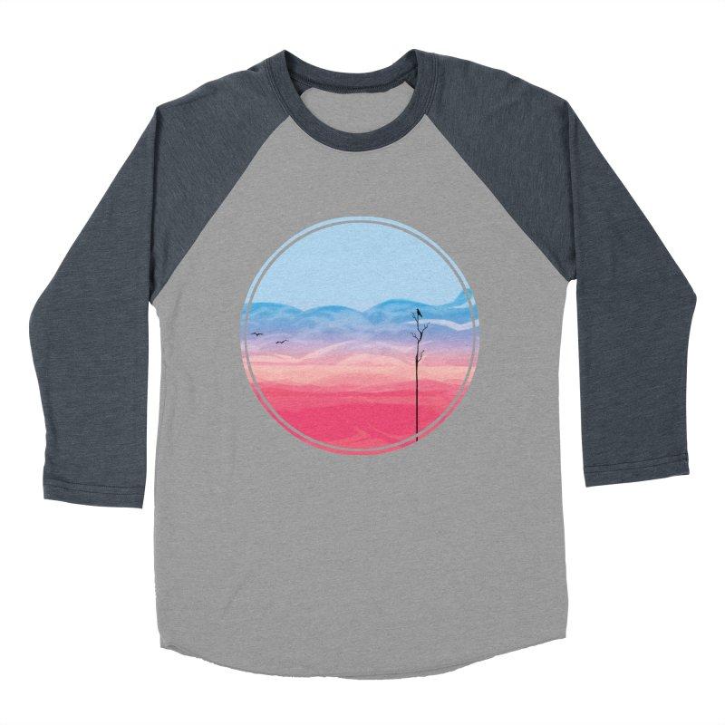Sunrise Women's Baseball Triblend T-Shirt by alisa's Artist Shop