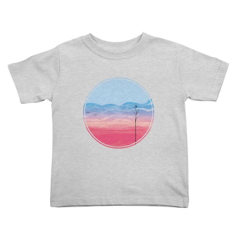 Sunrise Kids Toddler T-Shirt by alisa's Artist Shop
