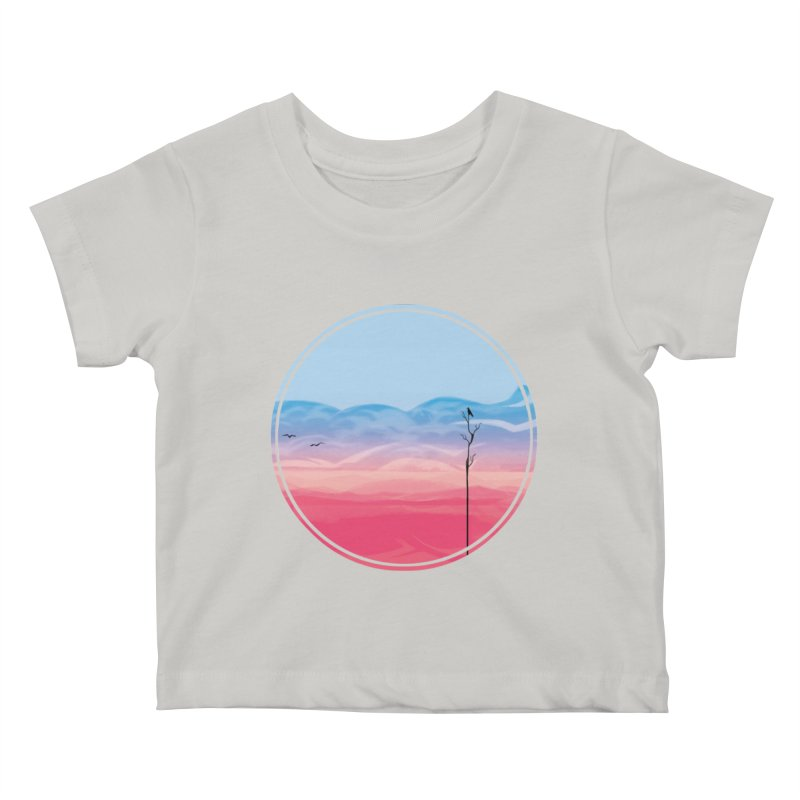 Sunrise Kids Baby T-Shirt by alisa's Artist Shop