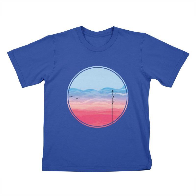 Sunrise Kids T-shirt by alisa's Artist Shop
