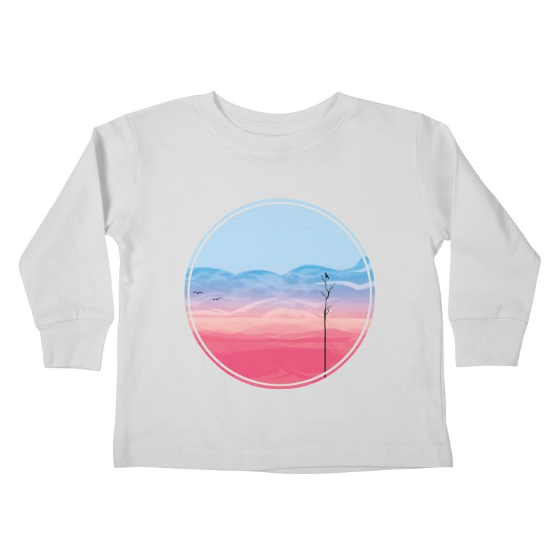 Sunrise-white tote Kids Toddler Longsleeve T-Shirt by alisa's Artist Shop