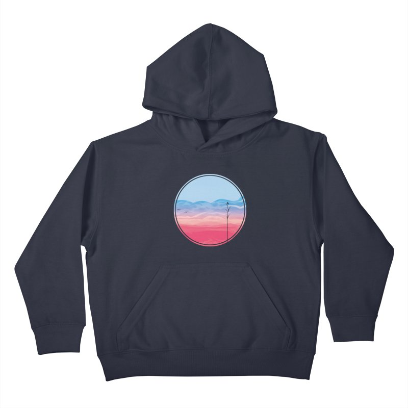 Sunrise Kids Pullover Hoody by alisa's Artist Shop