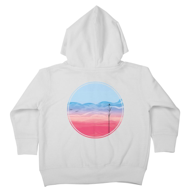 Sunrise Kids Toddler Zip-Up Hoody by alisa's Artist Shop