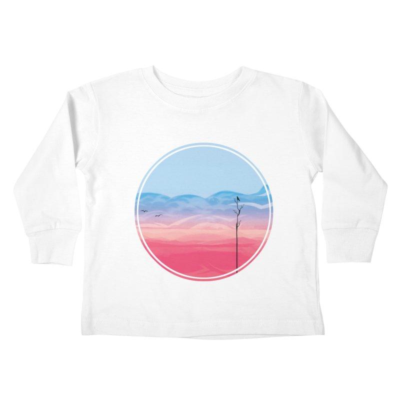 Sunrise Kids Toddler Longsleeve T-Shirt by alisa's Artist Shop