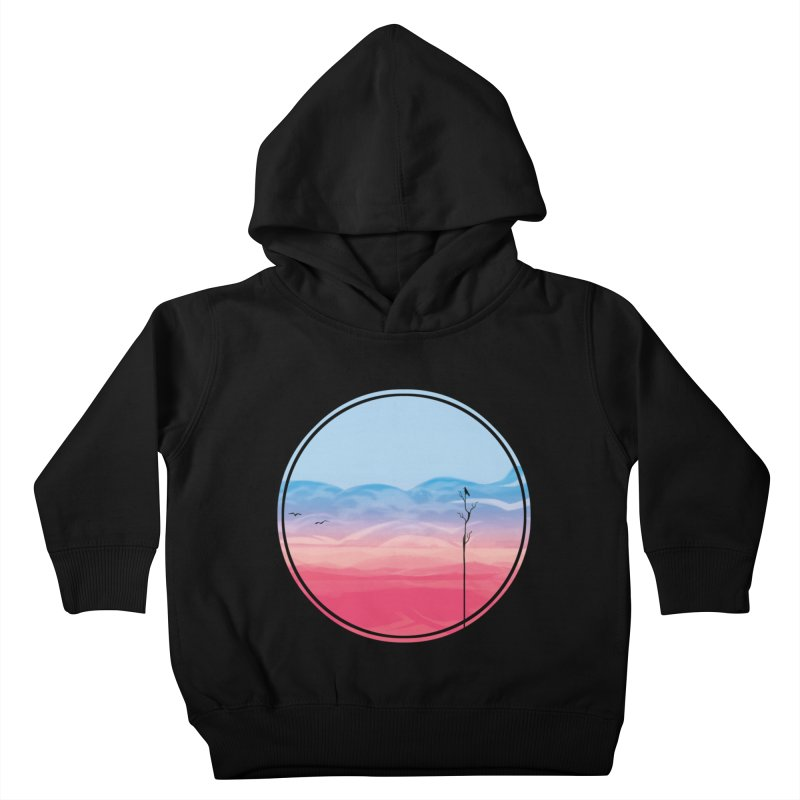 Sunrise Kids Toddler Pullover Hoody by alisa's Artist Shop