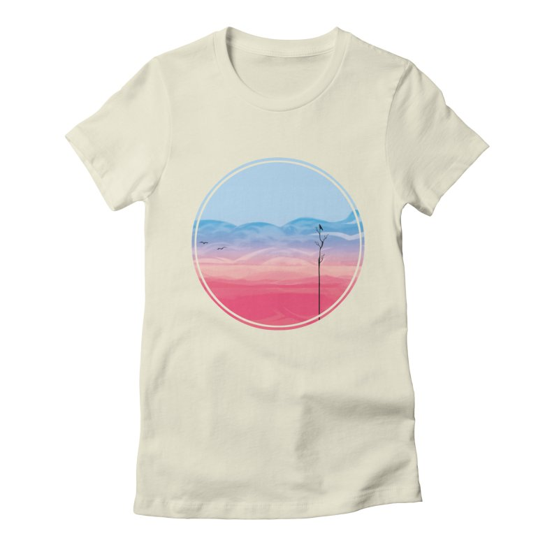 Sunrise Women's Fitted T-Shirt by alisa's Artist Shop